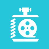 Free Video Converter, Video Compressor -VidCompact icon