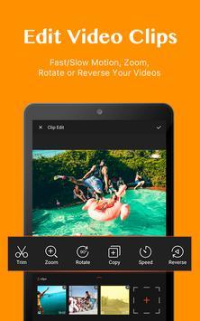 Editor video dan pembuat film apk screenshot