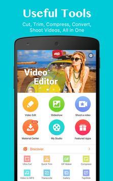 VideoShowLite:Video editor,cut,photo,music,no crop poster