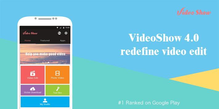 VideoShowLite:Video editor,cut,photo,music,no crop apk screenshot