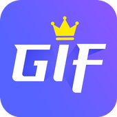 GIF maker, GIF editor with text, GIF camera, emoji icon