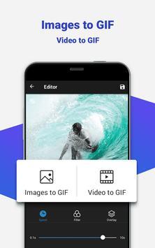 GIF maker, GIF editor with text, GIF camera, emoji apk screenshot