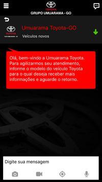 Umuarama Toyota GO screenshot 2