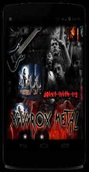 Xivirox Metalzine poster
