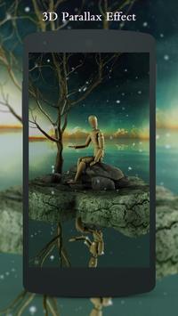 3D strange doll Live Wallpaper poster