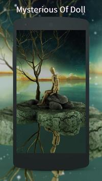 3D strange doll Live Wallpaper apk screenshot