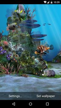 3D Aquarium Live Wallpaper HD screenshot 5