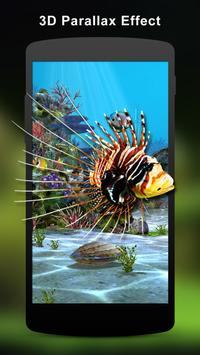 3D Aquarium Live Wallpaper HD poster