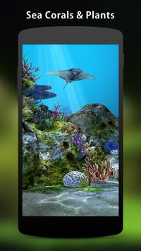 3D Aquarium Live Wallpaper HD screenshot 1