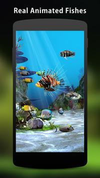 3D Aquarium Live Wallpaper HD screenshot 2