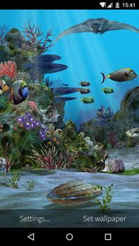 3D Aquarium Live Wallpaper HD Screenshot 3
