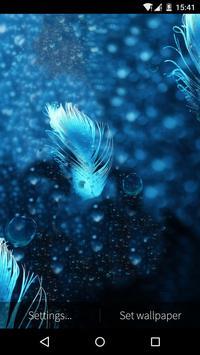 Feather Bubble Live Wallpaper apk screenshot