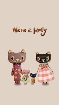 Family of Cat poster