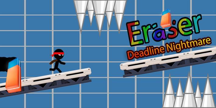 Erasers Man Deadline Night poster