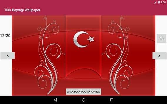 Türk Bayrağı Wallpaper apk screenshot