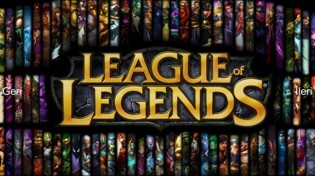League Of Legends Wallpaper HD Poster Apk Screenshot