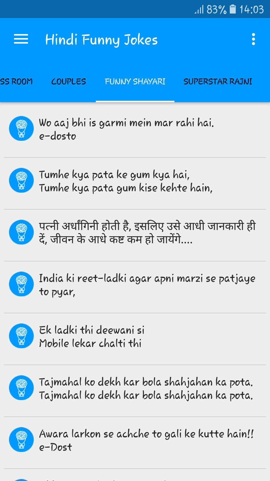 Funny Jokes & Shayari for Android - APK Download