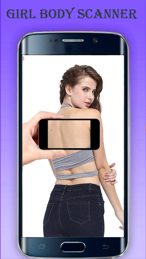 Girl Cloth Body Scanner Naked Sexy Girl Prank App! pour Android