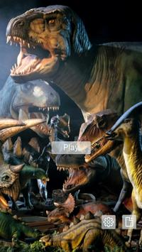 Kids puzzle – Dinosaurs poster