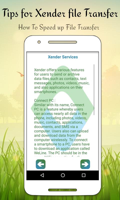 Tips for Xender file transfer for Android - APK Download