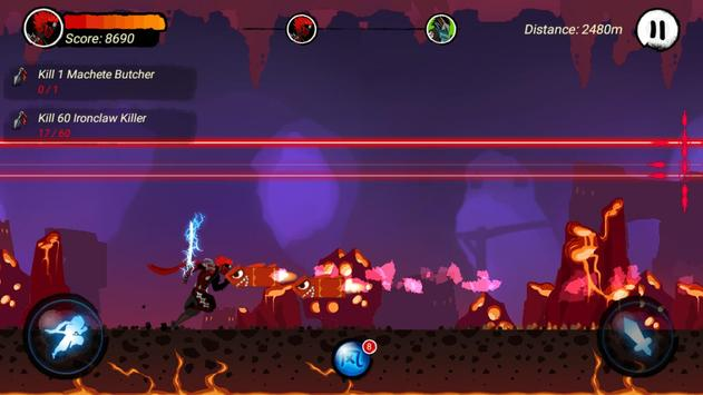 Ninja Run Kill screenshot 3