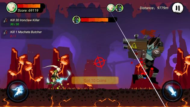 Ninja Run Kill screenshot 9