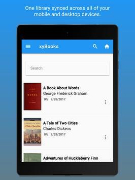 Xyfir Books - Ebook Reader, Storage, Management screenshot 5