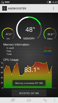 AndBooster (Memory Cleaner) apk screenshot