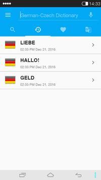 German<->Czech Dictionary screenshot 3