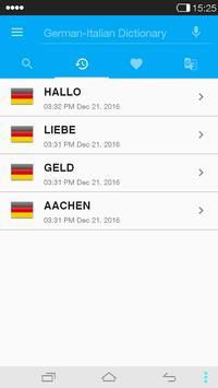 German<->Italian Dictionary apk screenshot