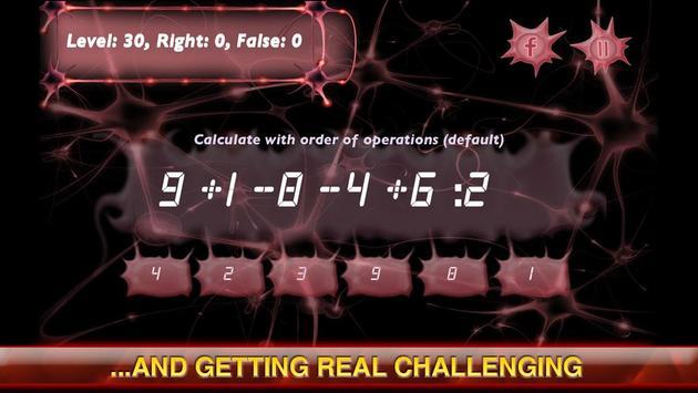 Mental Arithmetic apk screenshot