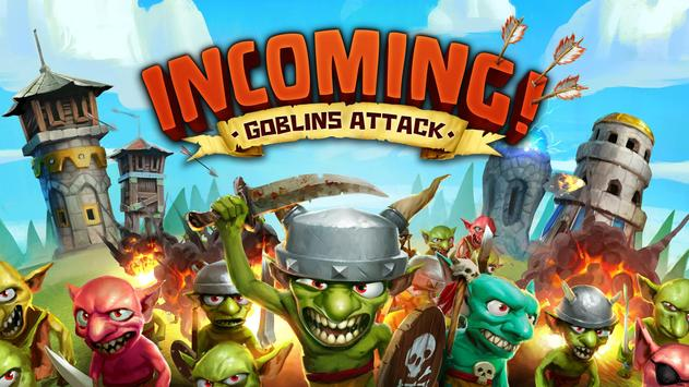 Incoming! Goblins Attack poster