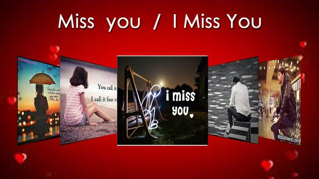 I Miss You &  Miss You Images poster
