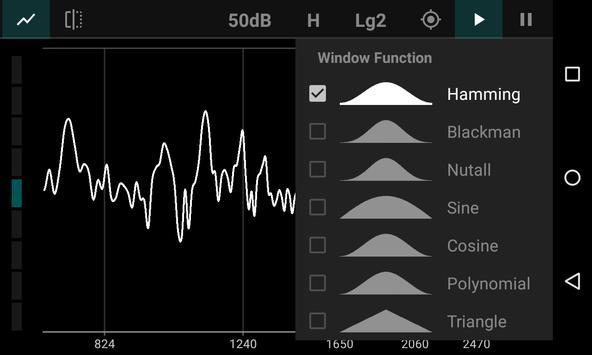 FFT Spectrum Analyzer 截圖 3