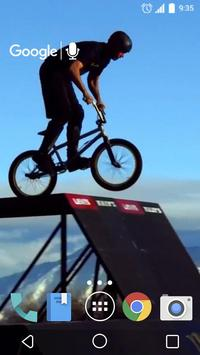 Awesome BMX Live Wallpaper poster