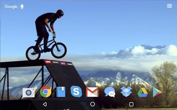 Awesome BMX Live Wallpaper apk screenshot