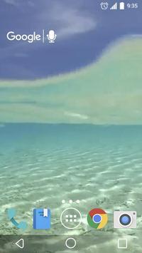 Clean Water Waves Live apk screenshot