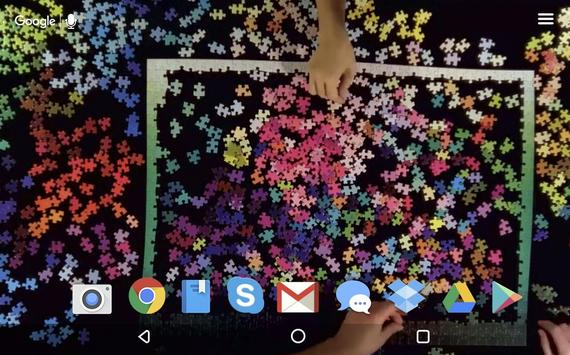 Colourful Puzzle Live apk screenshot