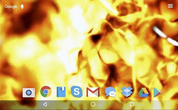 Fire Magic Live Wallpaper apk screenshot