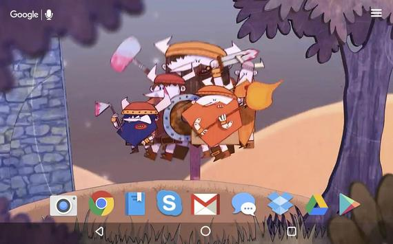 Hiking Vikings Live Wallpaper apk screenshot