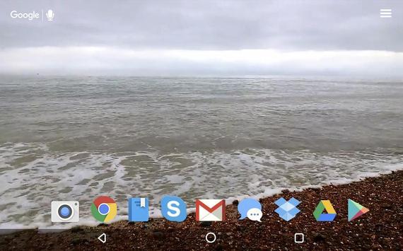 Sea Waves Live Wallpaper apk screenshot