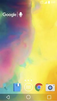 Smoky Colors Live Wallpaper apk screenshot