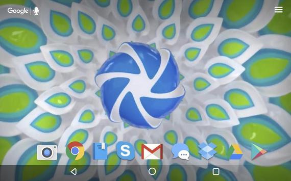 Technical Flowers Live apk screenshot