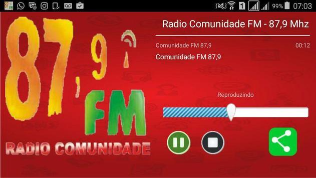Rádio Comunidade FM screenshot 1