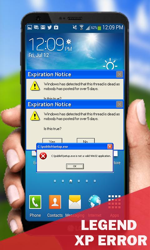 Legend XP Error for Android - APK Download