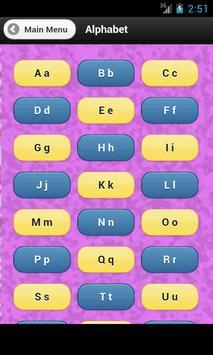 Alphabet screenshot 1