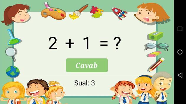 Sadə riyazi əməliyyatlar screenshot 2