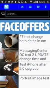 FACEOFFERS Merchant screenshot 2