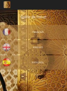 Guide de Rabat poster