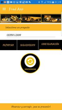 Fred App - Registro de Observaciones Preventivas screenshot 3
